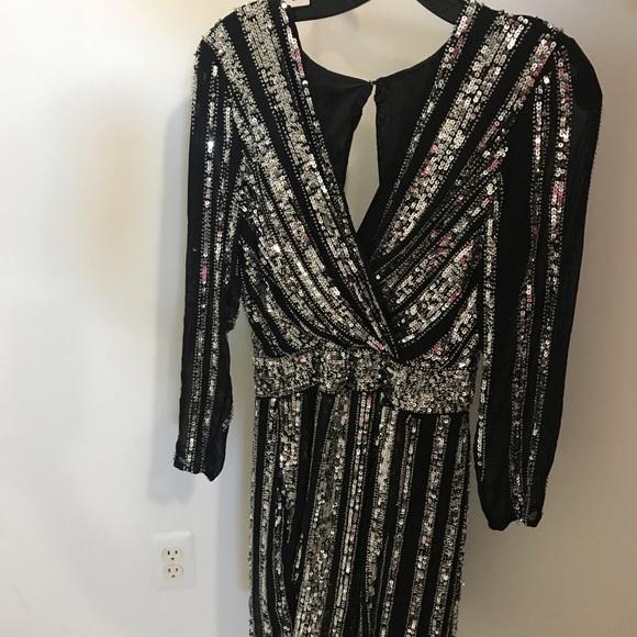 Parker Dresses & Skirts - Parker Black women's sequins and mesh dress✨